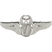 Air Force Command Remotely Piloted Aircraft (RPA) Badge, Mirror Finish, Midsize