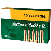 Sellier & Bellot .30-06 180 Gr. FMJ, 20 Rounds