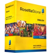 Rosetta Stone Version 4 TOTALe: English (US) Levels 1-5