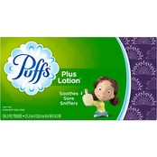Puffs Plus Lotion Facial Tissues 124 ct.