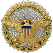 Army Badge Identification Officer Secretary Of Defense, Brite