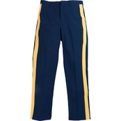 DLATS Men's Classic Fit ASU Trousers with Braid