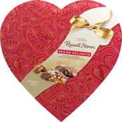 Russell Stover 8 Oz. Pecan Delight In Satin Heart