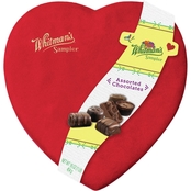 Russell Stover Sampler Suede Heart 16 oz.