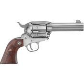 Ruger Vaquero 357 Mag 4.6 in. Barrel 6 Rnd Revolver Stainless Steel
