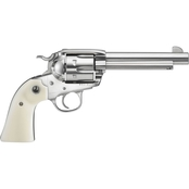 Ruger Vaquero Bisley 45 LC 5.5 in. Barrel 6 Rnd Revolver Stainless Steel