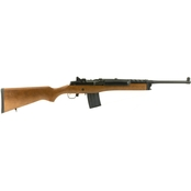 Ruger Mini-14 Ranch 5.56 NATO 18.5 in. Barrel 20 Rnd Rifle Blued Rail Scope Rings
