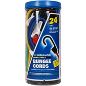 Highland 24 pc. Cargo Securing Bungee Cord Set