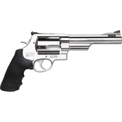 S&W 500 500 S&W 6.5 in. Barrel 5 Rnd Revolver Stainless Steel