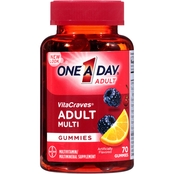 One A Day VitaCraves Adult Multivitamin Gummies Fruit 70 Gummies