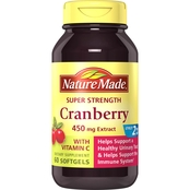 Nature Made Super Strength Cranberry 450 mg Softgels 60 Ct.