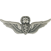 Army Badge, Regular Size Spec, Master Flight Surgeon