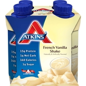 Atkins Ready To Drink Vanilla Shake 4 Pk.