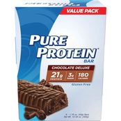 Pure Protein Chocolate Deluxe 50g Bar 6 Pk.