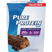 Pure Protein Chewy Chocolate Chip 50g Bar 6 Pk.