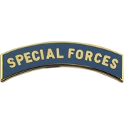 Army Tab Special Forces Enamel Large Pin-on (ASU)