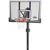 Lifetime 52 in. Shatter Guard In-Ground Basketball System