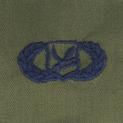 Air Force AirCrew Mbr Enlisted Chief Embroidered Sew-On Badge