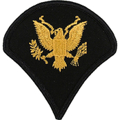 Army Rank SPC Large ASU Sew-On