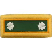 Army LTC Military Police Male Shoulder Straps