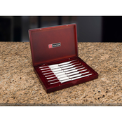 Wusthof 8 pc. Presentation Steak Knife Set with Rosewood Chest