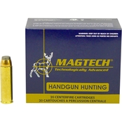 MagTech Sport Shooting .500 S&W 325 Gr. Semi Jacketed Soft Point, 20 Rounds