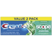 Crest Complete Whitening Plus Scope Toothpaste 2 Pk.