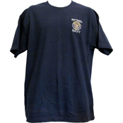 Retired Navy Crewneck Tee