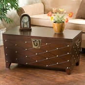SEI Nailhead Trunk Cocktail Table