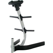 CAP Barbell 1 in. Hole Plate Tree and Bar Rack