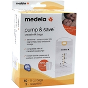 Medela Pump and Save Breastmilk Bags Pkg. of 50