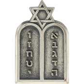 Army Officer Branch Of Service Chaplain Jewish Pin-on