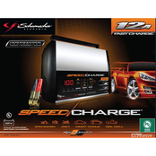 Schumacher 2/8/12A 12V Automatic SpeedCharge Charger