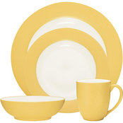 Noritake Colorwave Rim Stoneware 4 Pc. Place Setting