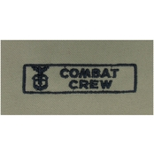 Air Force Bio-Med Officer Chief Embroidered Sew-On Badge