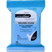 Exchange Select Facial Cleansing Cloths, 15 ct.