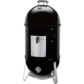 Weber Smokey Mountain Cooker and Smoker, Black 18.5 in.
