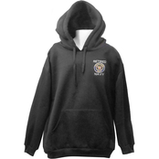 Retired Navy Military Logo Pullover Sweatshirt with Hood