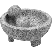 IMUSA 8 in. Granite Molcajete Mortar and Pestle