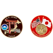 Challenge Coin US Army Japan Coin