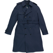 DLATS Men's Blue All Weather Coat