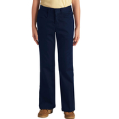 Dickies Girls Plus Size Stretch Flare Bottom Pants
