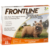 Frontline Plus for Dogs 3 pk.