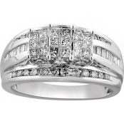 Expressions of Love 14K White Gold 1 CTW Diamond Engagement Ring