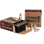 Hornady Critical Defense .380 ACP 90 Gr. Flex Tip Hollow Point, 25 Rounds