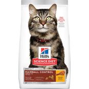 Science Diet Adult 7+ Hairball Control Chicken Recipe Dry Cat Food