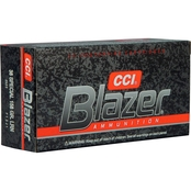 CCI Blazer .38 Special 158 Gr. Lead Round Nose, 50 Rounds