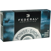 Federal PowerShok .30 Carbine 100 Gr. Round Nose Soft Point, 20 Rounds