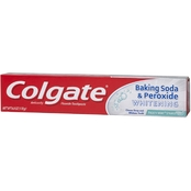 Colgate Whitening Gel Toothpaste with Baking Soda and Peroxide Frosty Mint, 6 Oz.