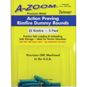 A-Zoom Rimfire Training Rounds, Dummy Rounds, 22LR, 6 Pk.